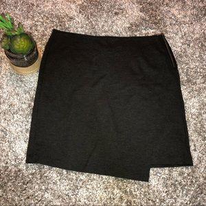 CAbi 998 Stretch Ponte Knit Side Zip Faux Wrap 14